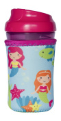 Kidzikoo - #1 Neoprene Baby Bottle/sippy Cup Insulator Cooler Coozie - Mermaids,