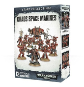 Games Workshop Start Collecting! Chaos Space Marines Warhammer 40,000