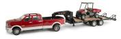Ertl Big Farm 1:16 Ram Pickup, Fifth Wheel Trailer And Scout