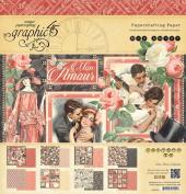 Graphic 45 Mon Amour - Mon Amour 12x12 Paper Pad
