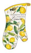 Michel Design Works Padded Cotton Oven Mitt, Lemon Basil, New,  .