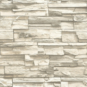 Natural Stacked Stone Peel And Stick Wall Decor