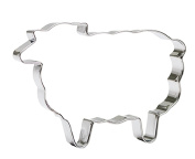 Sveico 939457-1 Sheep Shaped Cookie Cutter, 11cm New