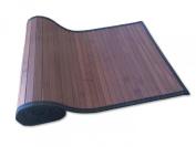 Bamboo Table Runner 180cm X 33cm Dark Brown Black Border, New