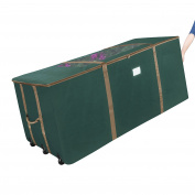 Elf Stor Rolling Duffle Christmas Tree Storage Bag - Dark Green 2-day Ship