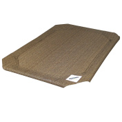 Coolaroo Elevated Pet Bed Replacement Cover Large Nutmeg New