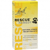 Bach Flower Essences Rescue Remedy Pet - 20 Ml, 2 Pack, New,  .