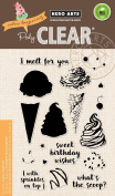 Hero Arts Clear Stamps 10cm x 15cm -colour Layering Ice Cream