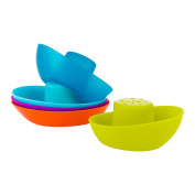 Boon Fleet Stacking Boats Bathing Toy, New