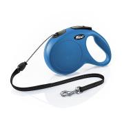 Flexi New Classic Retractable Dog Leash (cord) 7.9m Medium Blue Pet Made In Ger