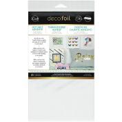 Deco Foil Iron-on Adhesive Transfer Sheet 14cm x 30cm 5/pkg-