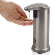 Ecodefy Automatic Touchless Hand Soap And Sanitizer Dispenser For Kitchen Sink