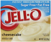 Jell-o Sugar-free Instant Pudding And Pie Filling, Cheesecake, 30ml Boxes ...