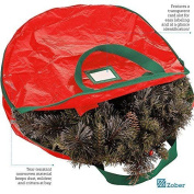 New Wreath Storage Bag Tear Resistant Material With Transparent Card Slot