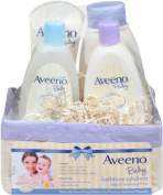 Aveeno Baby Daily Bath Time Solutions Gift Set To Prevent Dry Skin