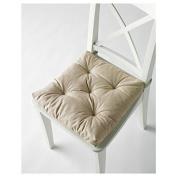 Ikea's Malinda Chair Cushion 2 Light Beige Patio Furniture Cushion