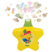 Tomy Starlight Dreamshow Yellow - Cot Crib Night Light Projector Mobile Toy Baby