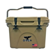Orca Coolers Orct020 Insulated 18.9l Quart Tan Ice Chest Cooler