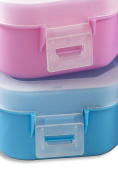 Toy Organiser Storage Box Compatible With Tsum Tsum - Holds Over 50 Figures -