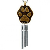 Car Musical Wind Chimes Paw Print - Made In Usa