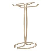 Interdesign Axis Towel Holder For Bathroom Vanities - Pearl Champagne