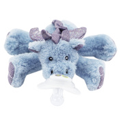 Nookums Paci-plushies Dragon Shakies - Universal Pacifier Holder And Ratt... New
