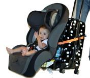 Go-go Babyz Travelmate Car Seat Luggage Strap Orange One Size