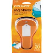 Fiskars Standard Tag Maker with Built-in Eyelet Setter