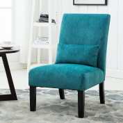 Roundhill Furniture Pisano Slipper Chair