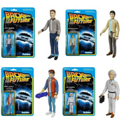 Back To The Future Reaction Figure Set Of 4