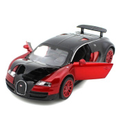 New Style 1:32 Bugatti Veyron Alloy Diecast Car Model Collection Light & sound Red