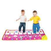 Eyourhappy Musical Electronic Keyboard Piano Carpet Baby Activity Gym Play Mats