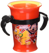 Disney Mickey Mouse Grow Up Cup, Red, 210ml