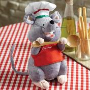 Cuddle Barn Chef Luigi Animated Singing And Dancing Plush 30cm Plush Puppet