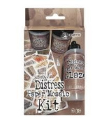 Tim Holtz Distress Paper Mosaic Kit-