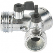Camco Mfg. Inc./rv 20113 Metal Rv Shut Off Valve-metal Shut Off Y-valve