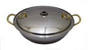 Japanese Stainless Steel Shabu Shabu Nabe Hot Pot 26cm #0033 S-2615