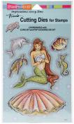 Stampendous Dies Pearl Mermaid