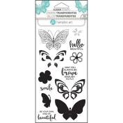 Hampton Art ~ Butterfly / Butterflies ~ Colour Layering Stamps ~ Sc0750