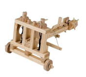 Timberkits Ballista Wooden Model Kit Moving Construction Diy Toy Automaton