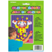 Unique Pin The Nose on The Clown Party Game
