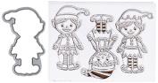 Hero Arts Stamp & Cuts-santa's Elves