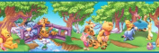 Blue Mountain Wallcoverings 83182020 Pooh Scenic Prepasted Wall Border