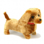 Walking Barking Wagging Tail Lucky Puppy Pet Dog Toy Batteries Included And