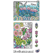 Hampton Art Colouring Clear Stamps-choose