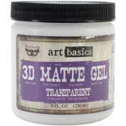 Finnabair Art Basics 3d Matte Gel 240ml-transparen