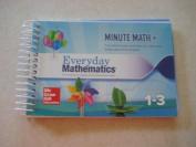 "Mc-graw-hill Everyday Mathematics 4,grade 1-3 / Compact ""minute Math +"""