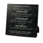 Lighthouse Christian Products Simple Faith Serenity Prayer Plaque, 5 5/8 X 5 New