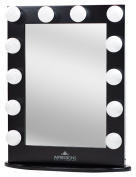 Impressions Vanity Hollywood Iconic Xl Vanity Mirror With Dimmer And Frosted