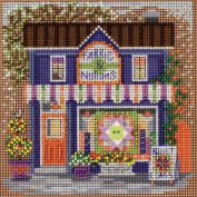 Fabric Shoppe Cross Stitch Kit Mill Hill Buttons & Beads Spring Mh141713